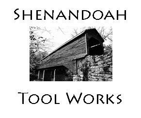 logo showing meems bottom covered bridge and shenandoah tool works company name